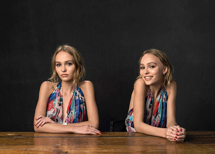 Lily-Rose Melody Depp. Фото: Andrew H. Walker.