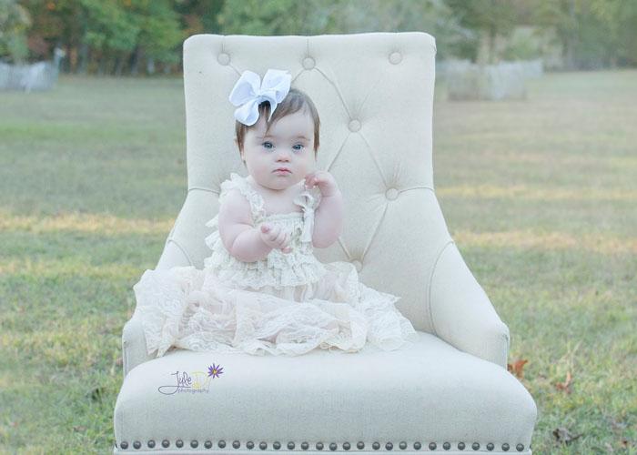 Маленькая принцесса.  Фото: JuleD Photography.