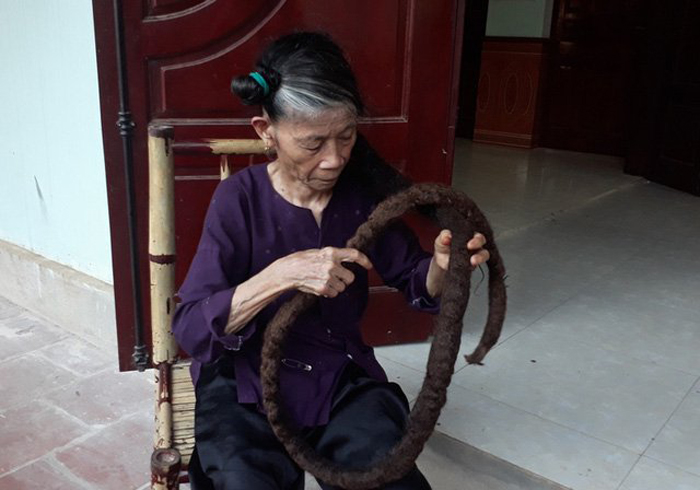 Трин Ти Нгиен начала отращивать волосы 22 года назад.