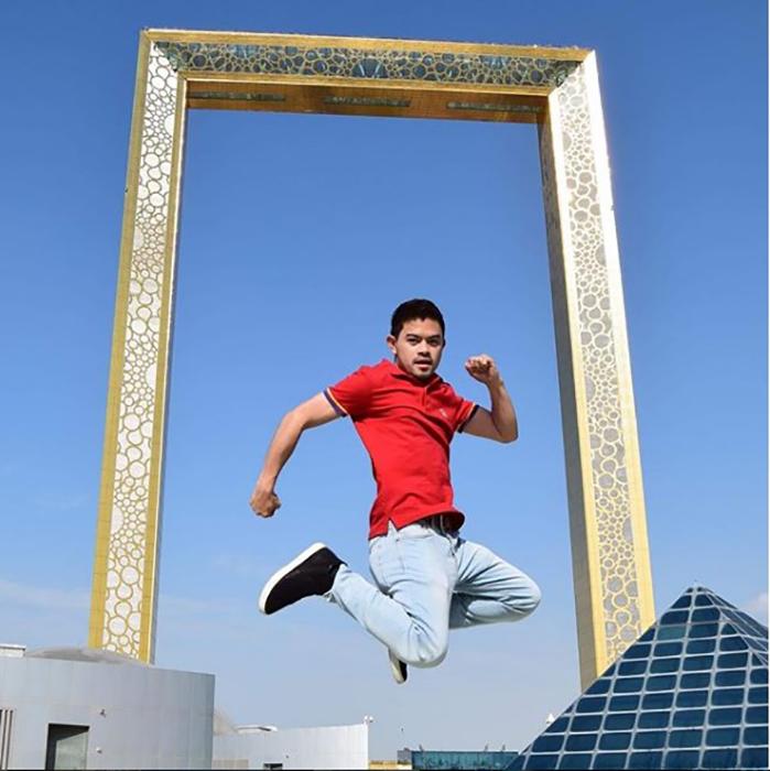 Новый объект для селфи в Дубае.