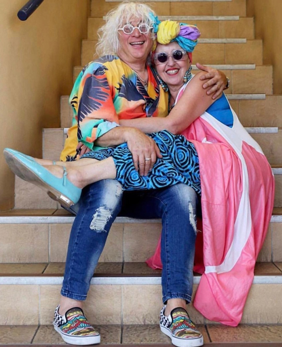 Пол и Тутти уже 40 лет вместе.