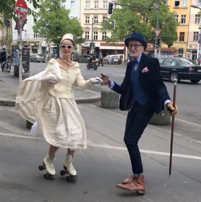Пожилые хипстеры из Берлина.
