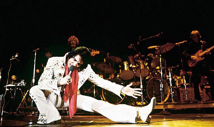 На концерте в 1970-е.