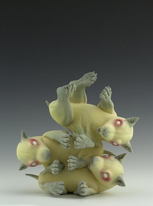 Необычные создания из керамики.