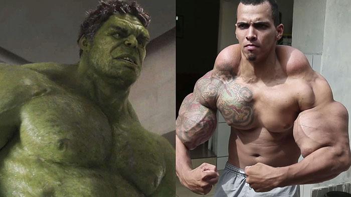 Romario Dos Santos Alves: The Hulk