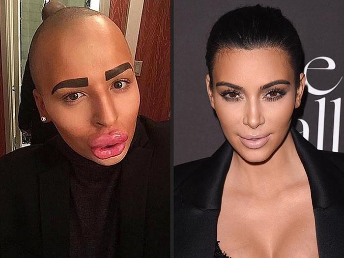Jordan James Parke: Kim Kardashian.