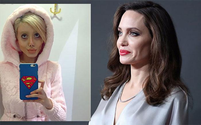 Sahar Tabar: Angelina Jolie.