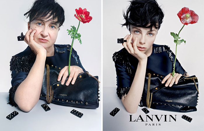 Lanvin создает одежду высокой моды.