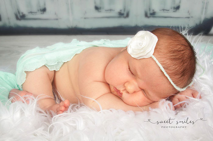 Фотосессия малышки Карлай. Фото: Debbye Benson.
