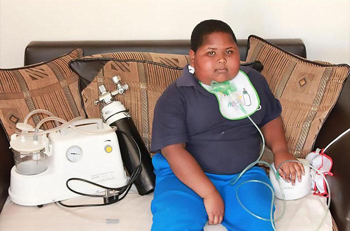 Несколько лет назад из-за ожирения Кадену стало трудно дышать.