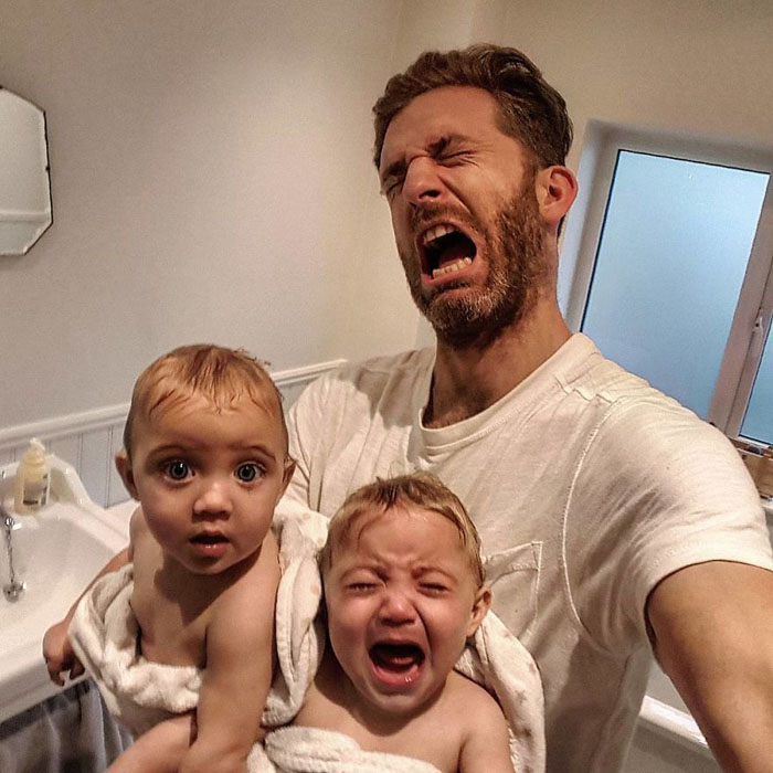 Когда режутся зубы. Instagram father_of_daughters.