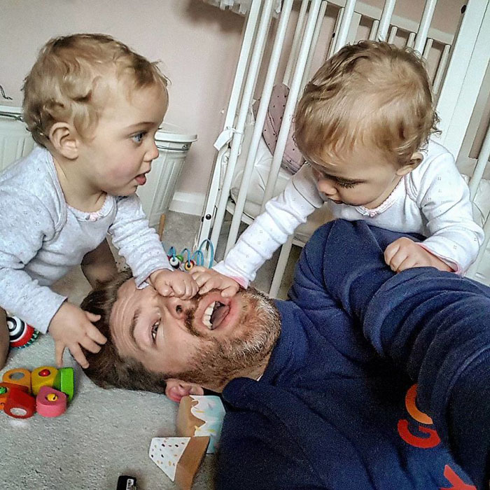 Кто-нибудь, спасите папу! Instagram father_of_daughters.