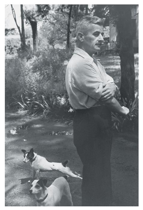 Уильям Фолкнер, Оксфорд, США, 1947г.