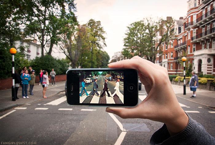 Улица Эбби-Роуд, Лондон, Великобритания.