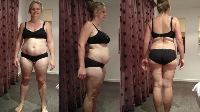 После родов Шарни набрала очень много веса.