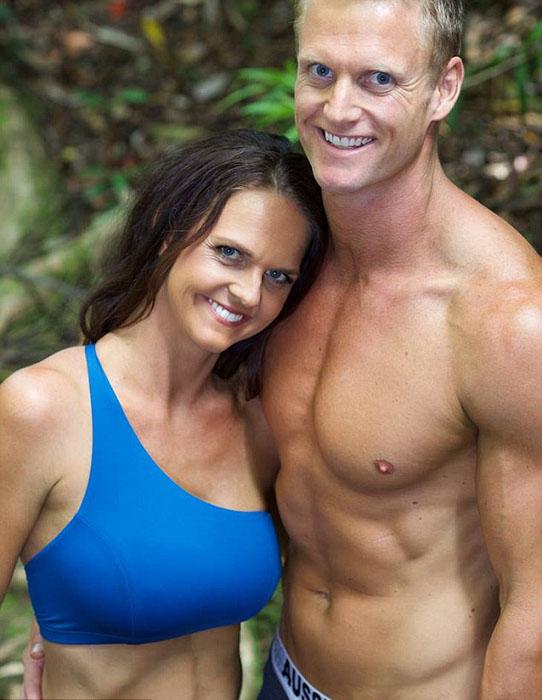 Шарни и Джулиус Кизер разработали фитнес-программу для родителей маленьких детей.