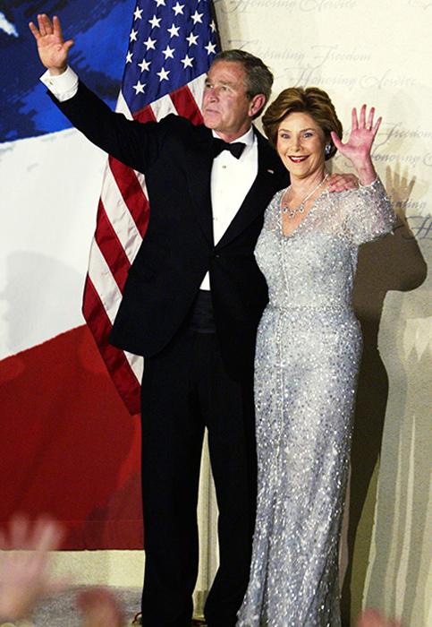 Лора Буш. 2005 год.