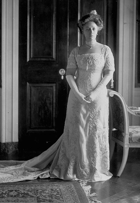 Хелен Луиза Тафт, жена Уильяма Тафта. 1909 год.