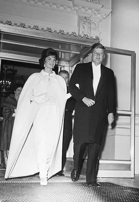 Жаклин Кеннеди, жена Джона Кеннеди. 1961 год.