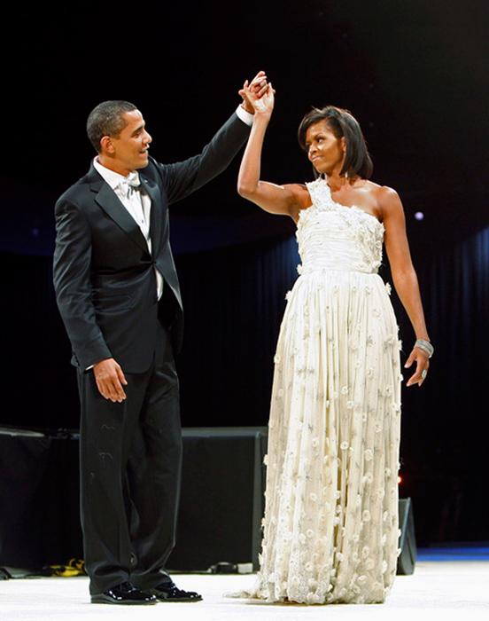 Мишель Обама, жена Барака Обамы. 2009 год.