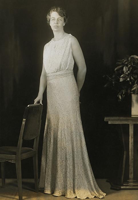 Элеонора Рузвельт, жена Франклина Рузвельта. 1933 год.