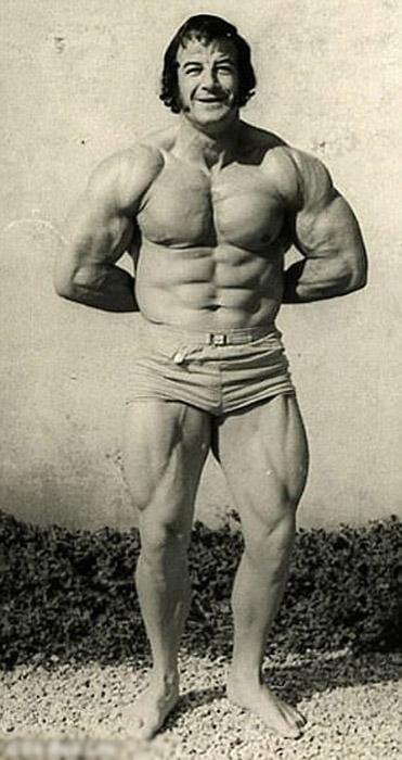 Джон Бабб в 1970-х.