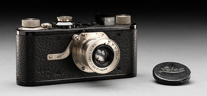Камера Leica I, выпущенная в 1925 году.