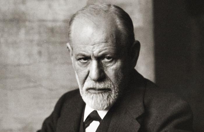 Зигмунд Фрейд (1856 - 1939).