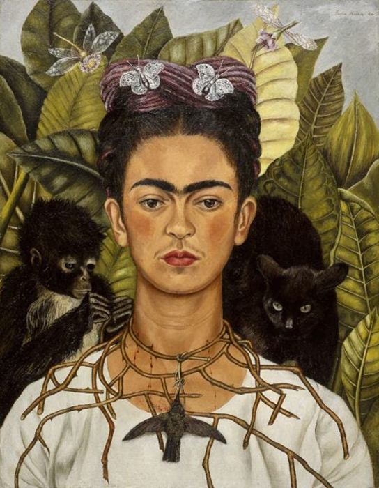 Автопортрет Фриды Кало.