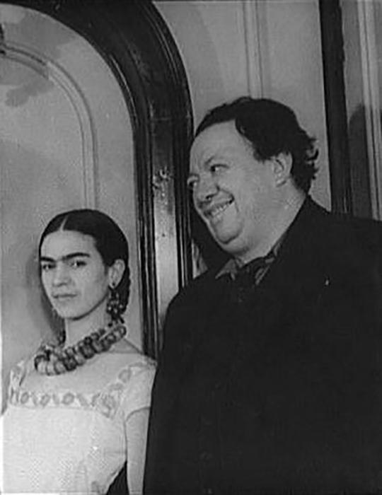 Фрида Кало и Диего Ривера.