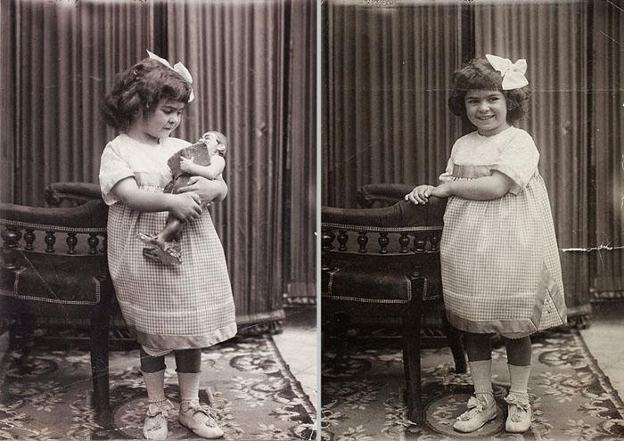 Фриде Кало 4 года, 1911 год.