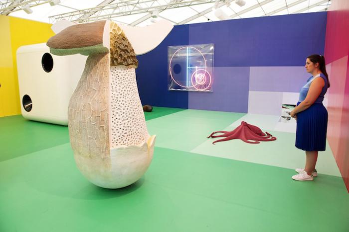 Интерактивная инсталляция Карстена Холлера.