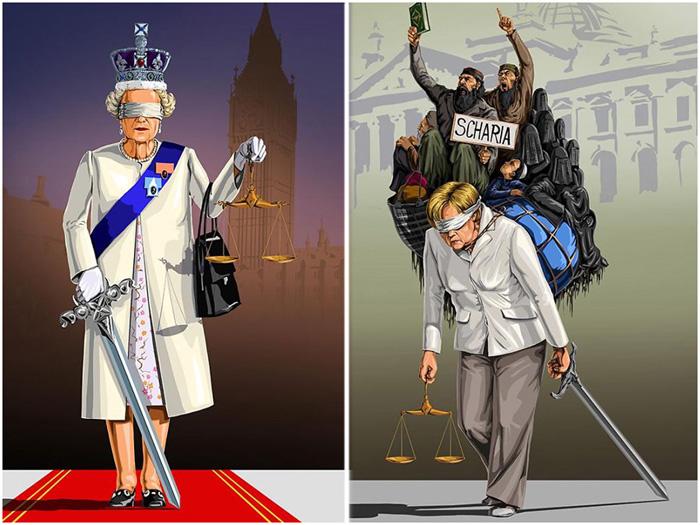 Правосудие в разных странах.