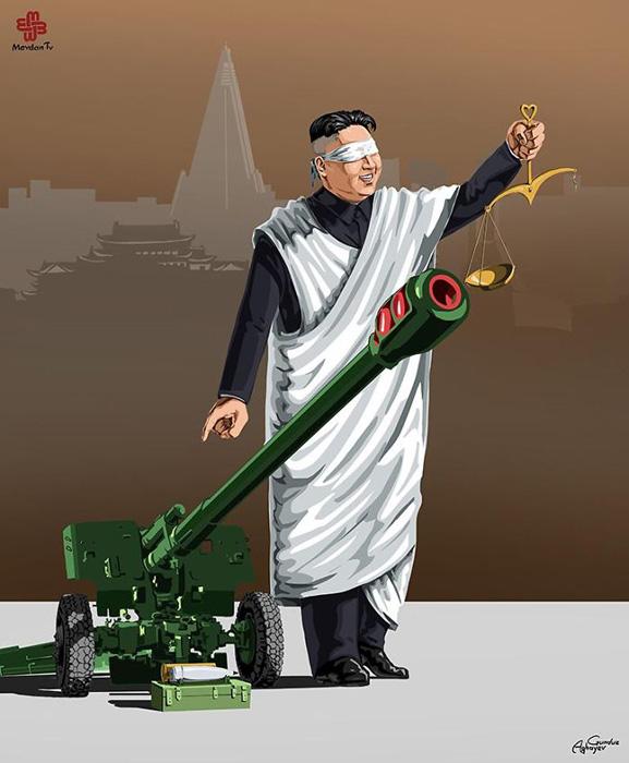 Северная Корея. Автор: Gunduz Agayev.