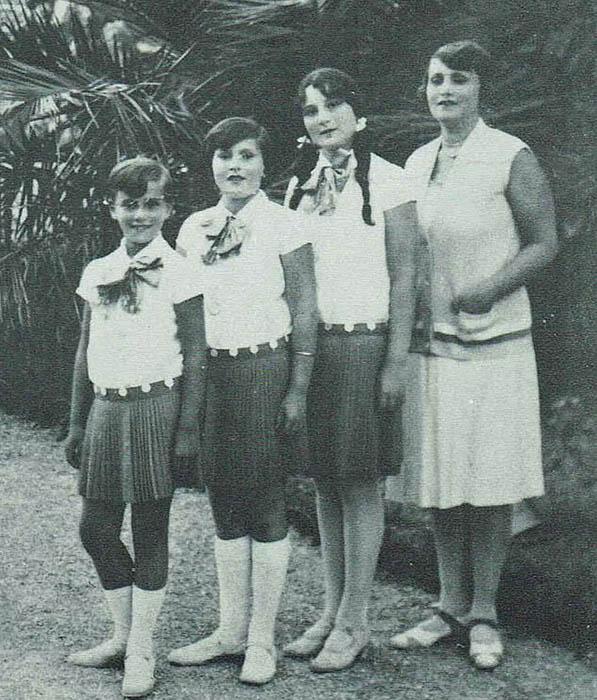 Фотографии семейства Габор из Венгрии.