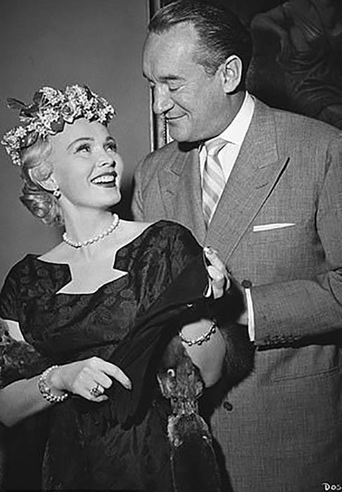Жа-Жа и ее третий муж Джордж Сандерс.