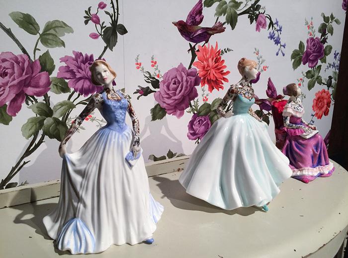 Фарфоровые красавицы от Jessica Harrison.