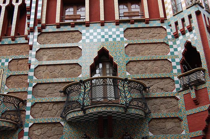 Литые балкончики.