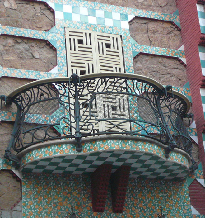 Все декоративные элементы были созданы специально для дома Висенс.