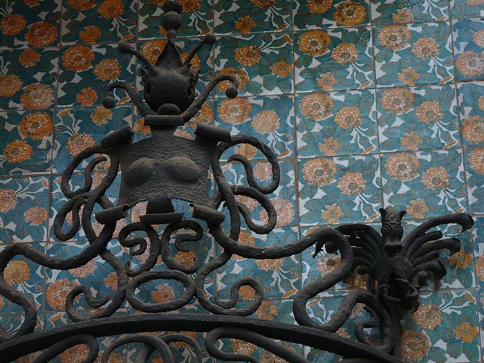 Дом Висенс в Испании.