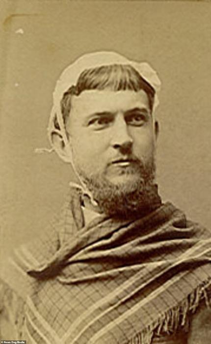 Неизвестный мужчина. 1870-е.