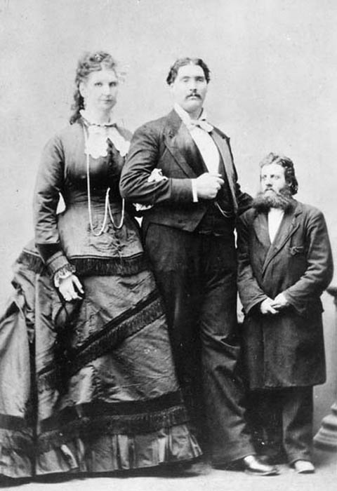 Самая высокая пара в мире.