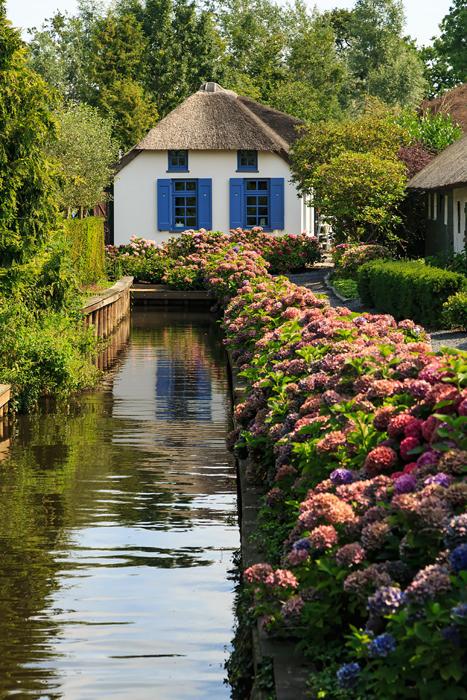 Сказочное место в северной Голландии.
