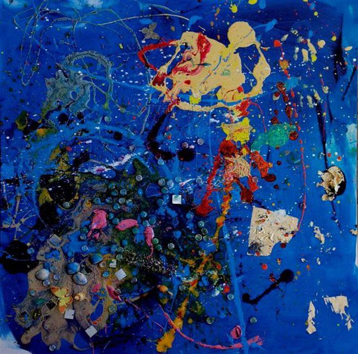 Одна из картин Аэлиты Андрэ.