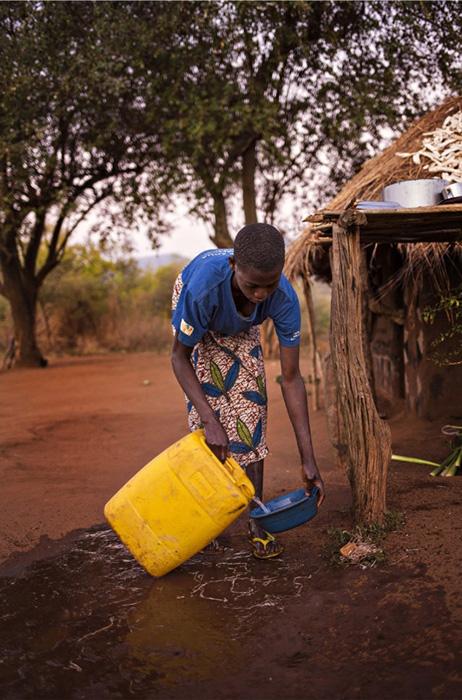 Получение доступа к чистой воде стало поворотным событием в жизни этой деревни.