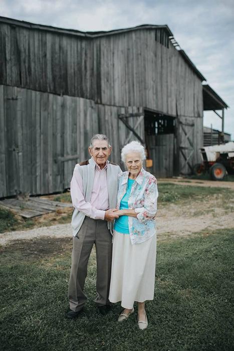 68 лет вместе. Фото: Paige Franklin.