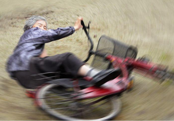 Бабушке явно не занимать воображения и энергии. Фото: Kimiko Nishimoto.