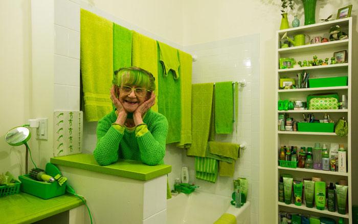 Зеленая Леди из Бруклина.