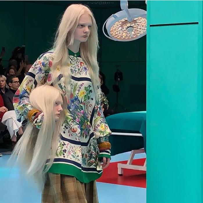 Gucci удалось шокировать публику.