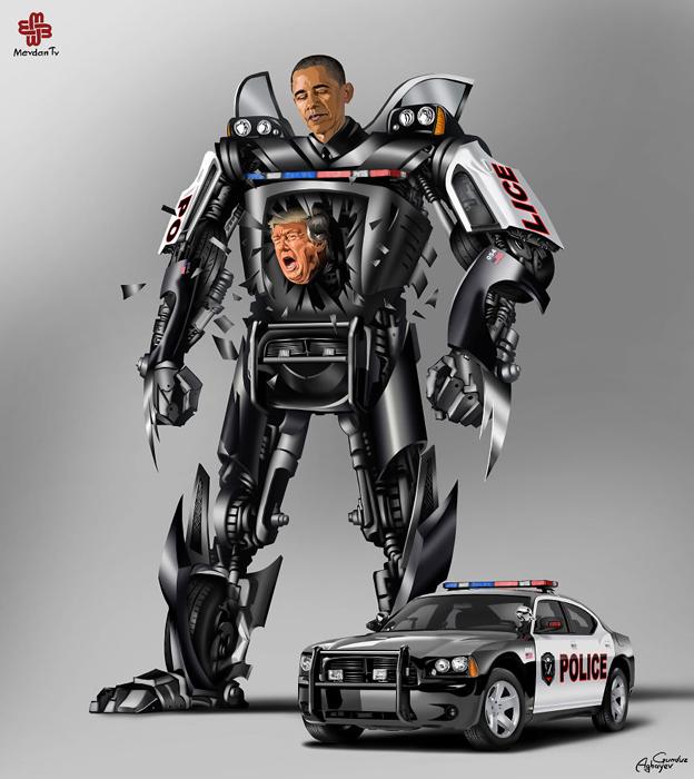Президент США Барак Обама. Автор: Gunduz Agayev.